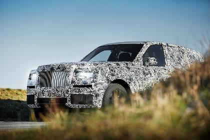 Прототип полноприводного Rolls-Royce отправится вЗаполярье