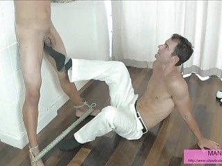 Shocking hardcore riding on big cock