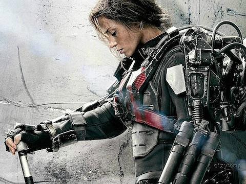 Edge of Tomorrow 2014 Hindi Dubbed BRRip HD Full Movie