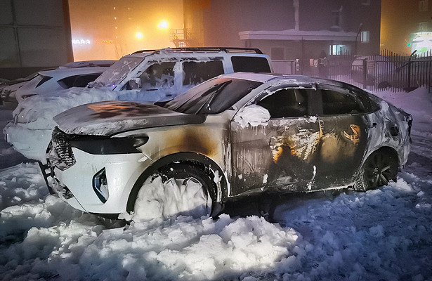 Российские Haval загораются наморозе