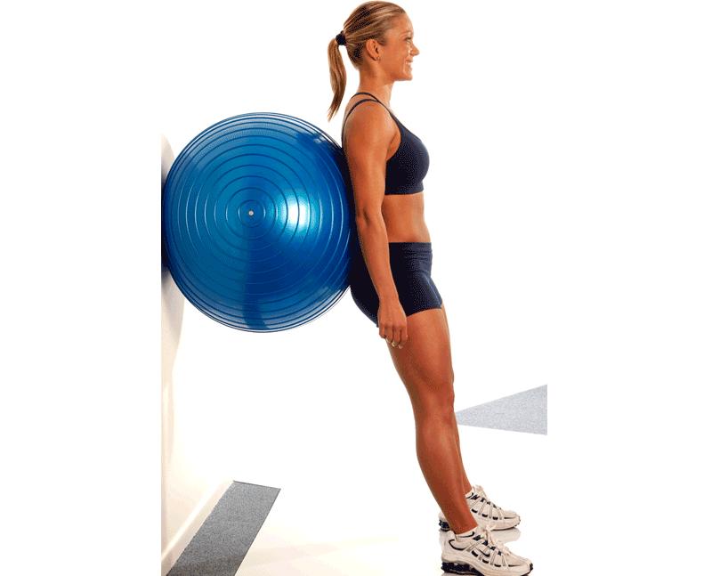 Как быстро похудеть на мяче