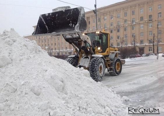 УПолтавченко спросили, собирается лионубирать снег вПетербурге