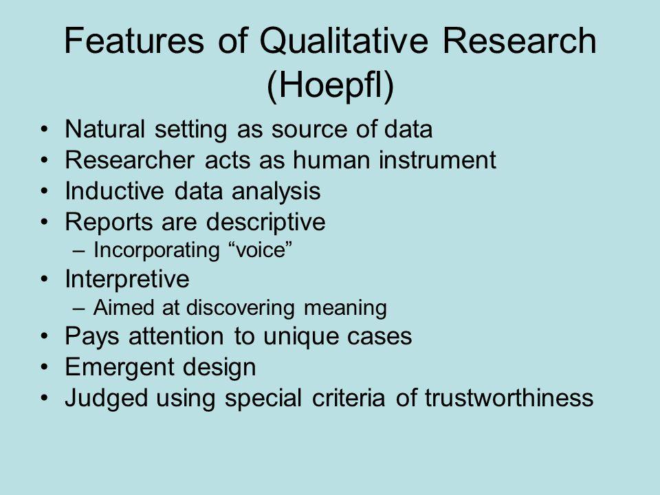 Qualitative paper example