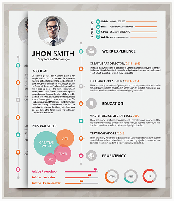 Resume Templates – 127+ Free Samples, Examples
