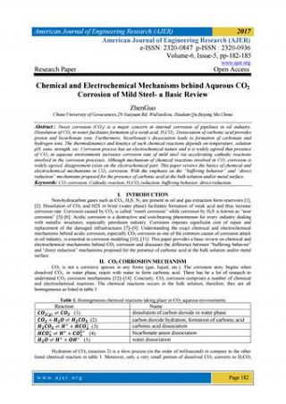 Corrosion research paper