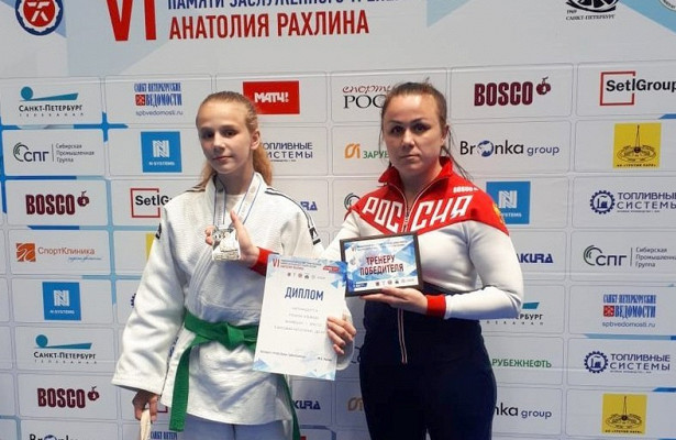 Дзюдоистка изСавеловского взяла золотую награду насоревнованиях вСанкт-Петербурге