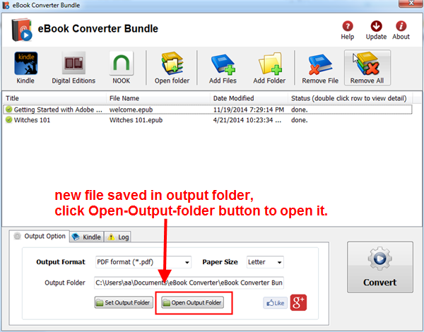 Ebook Converter - Downloadcom