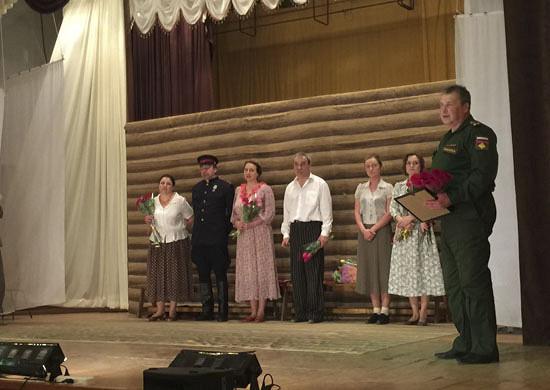 Театр Армии провел гастроли вСаратове