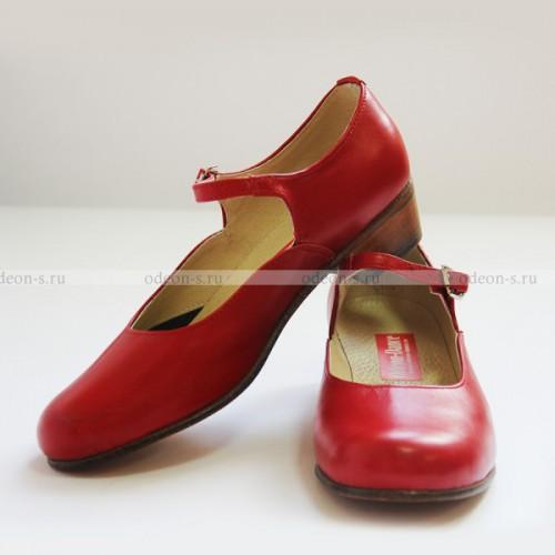 Народные туфли для девочек