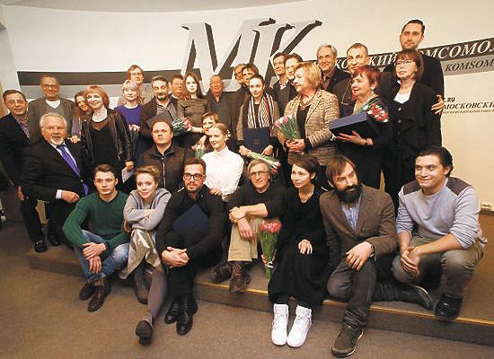 «МК» вручил театральную премию лучшим актерам ирежиссерам России