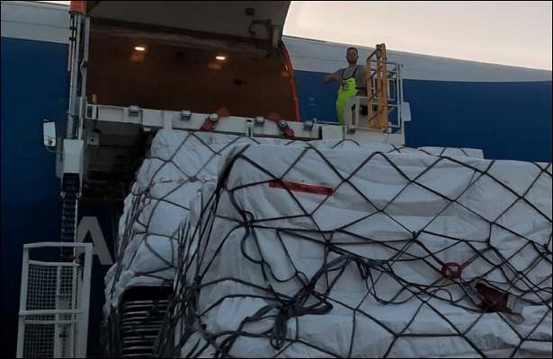 Авиакомпания AirBridgeCargo доставила 500000ампул счеловеческим альбумином