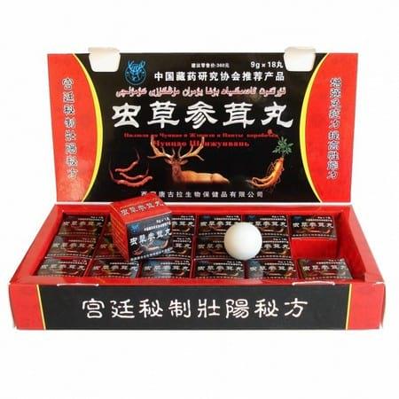 Для повышения потенции китайские таблетки для