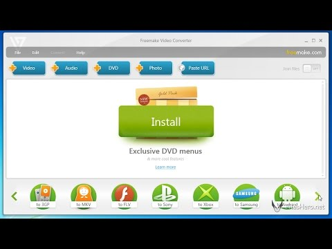 Freemake Video Converter - Download, Install and Use