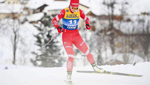 Четверо россиянок пробились вчетвертьфинал наЧМполыжным гонкам