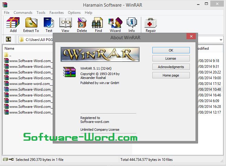 Free Download WinRAR 550 Final Full Version Pre