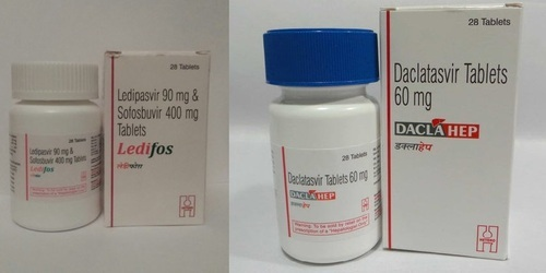 Daclatasvir (60 mg*) and sofosbuvir