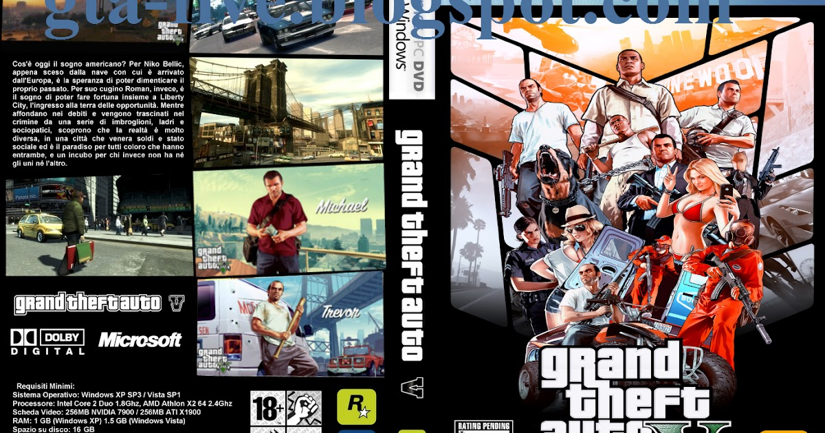 Grand Theft Auto 5 Download - GTA 5 Download naar PC