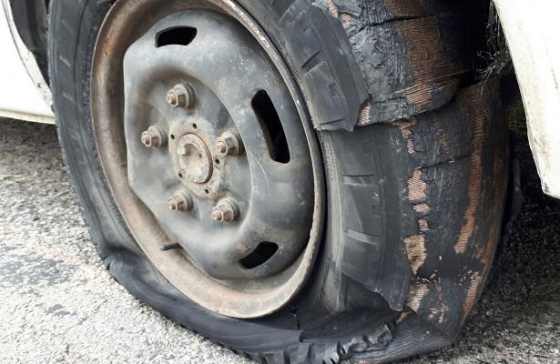 Чтоделать привзрыве колеса