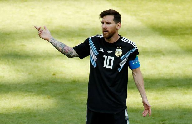 Аргентина— Исландия. 1:1