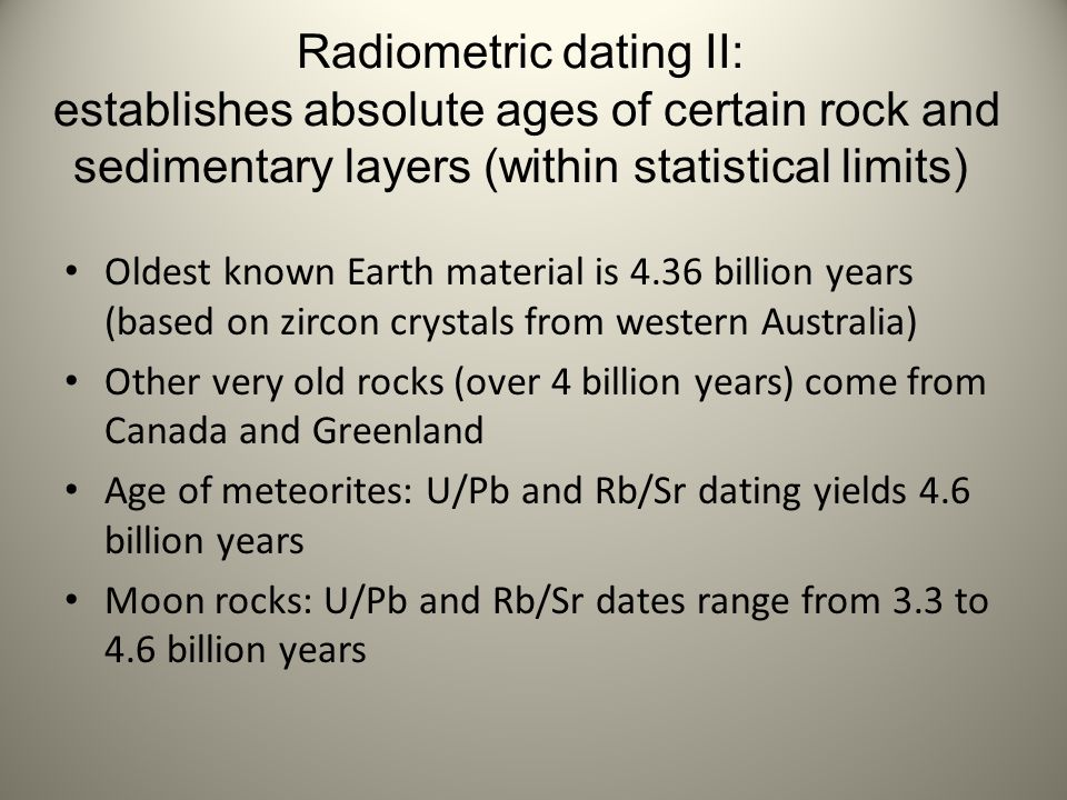 Radiocarbon dating is used to measure the age of fossils true or false