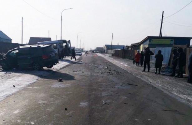 ВДТПсмаршруткой вКызыле пострадали 17человек