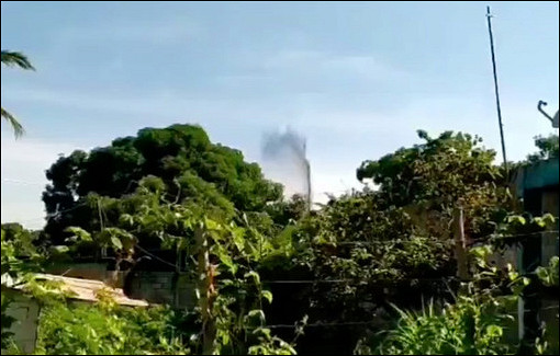 Фонтан нефти забил вВенесуэле