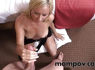 Georgette parks sucks black cock
