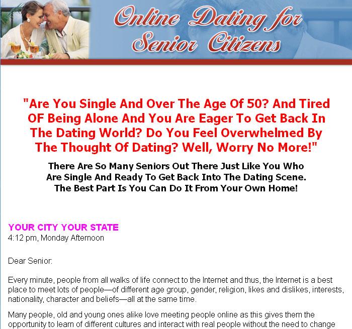 Dating rules for senior citizens