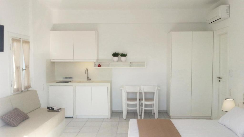 1 комнатную квартира в Наксос