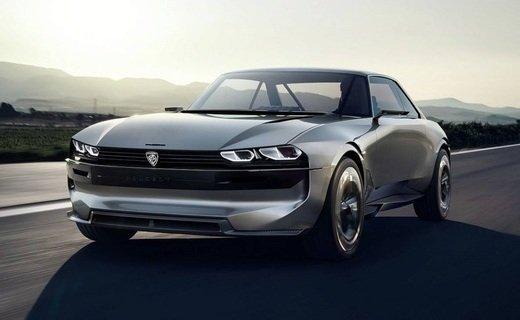 Представлен электрический ретроконцепт Peugeot e-Legend