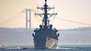 Вооруженный ракетами эсминец СШАзашел вЧерное море