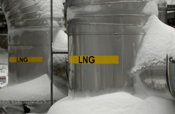 Арктические морозы обрушили экспорт сжиженного газа изСША