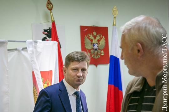 Навыборах вХабаровском крае сменился лидер