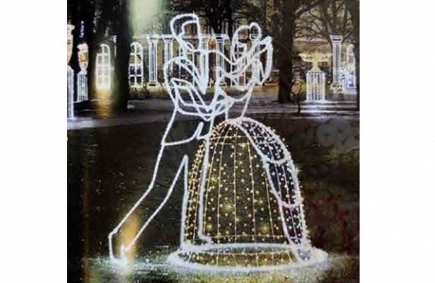 Арт-объект «Танцующая пара» приедет вВологду изСанкт-Петербурга