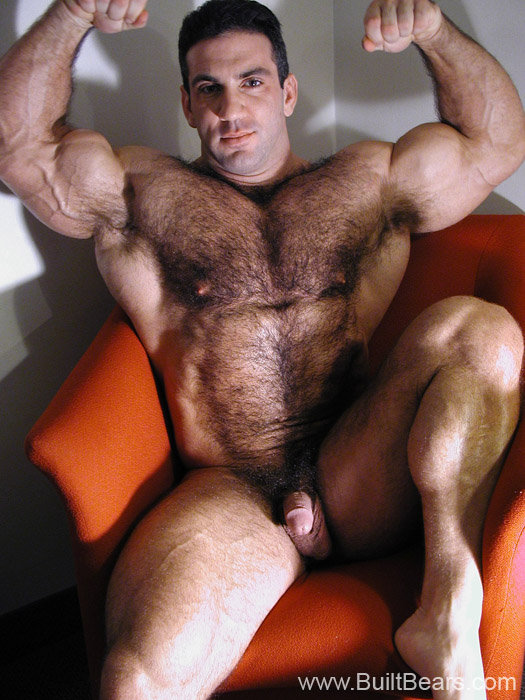 Hairy mature daddy creampie