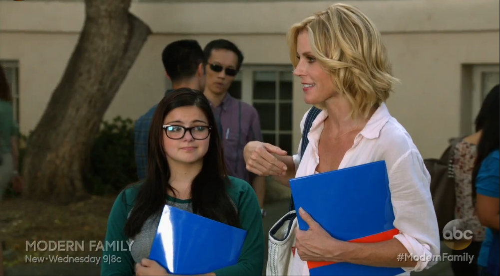 Modern family college essay episode