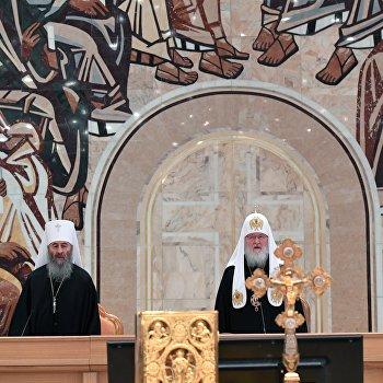Патриарх Кирилл выразил надежду напреодоление церковного раскола наУкраине