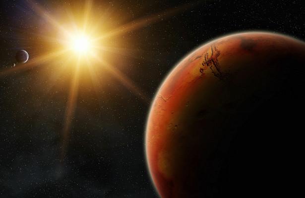 Ученый предсказал появление города-миллионника наМарсе к2100 году