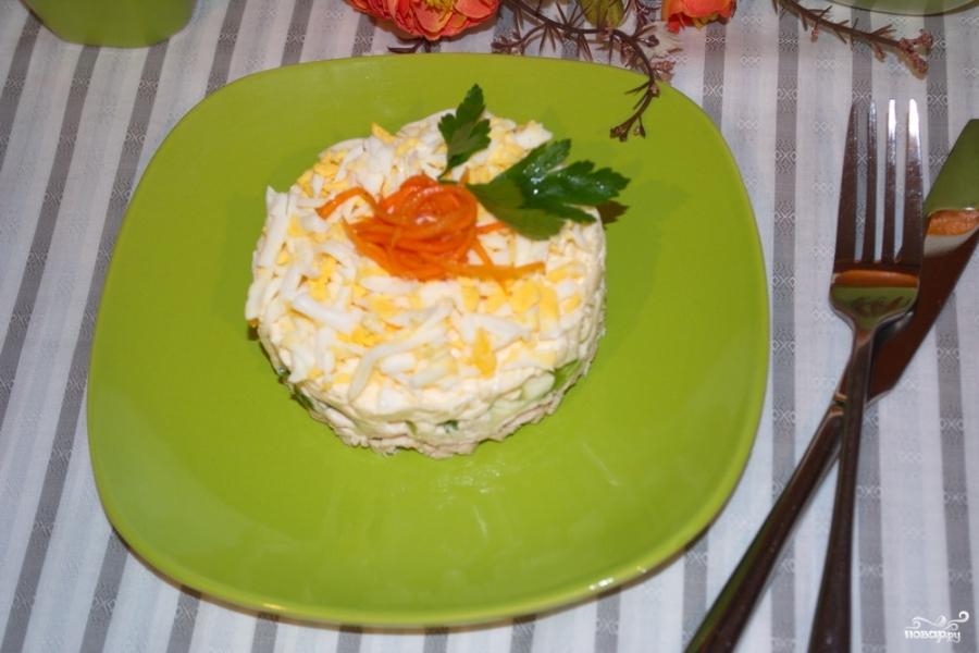 Салатики рецепты с фото мужские слезы