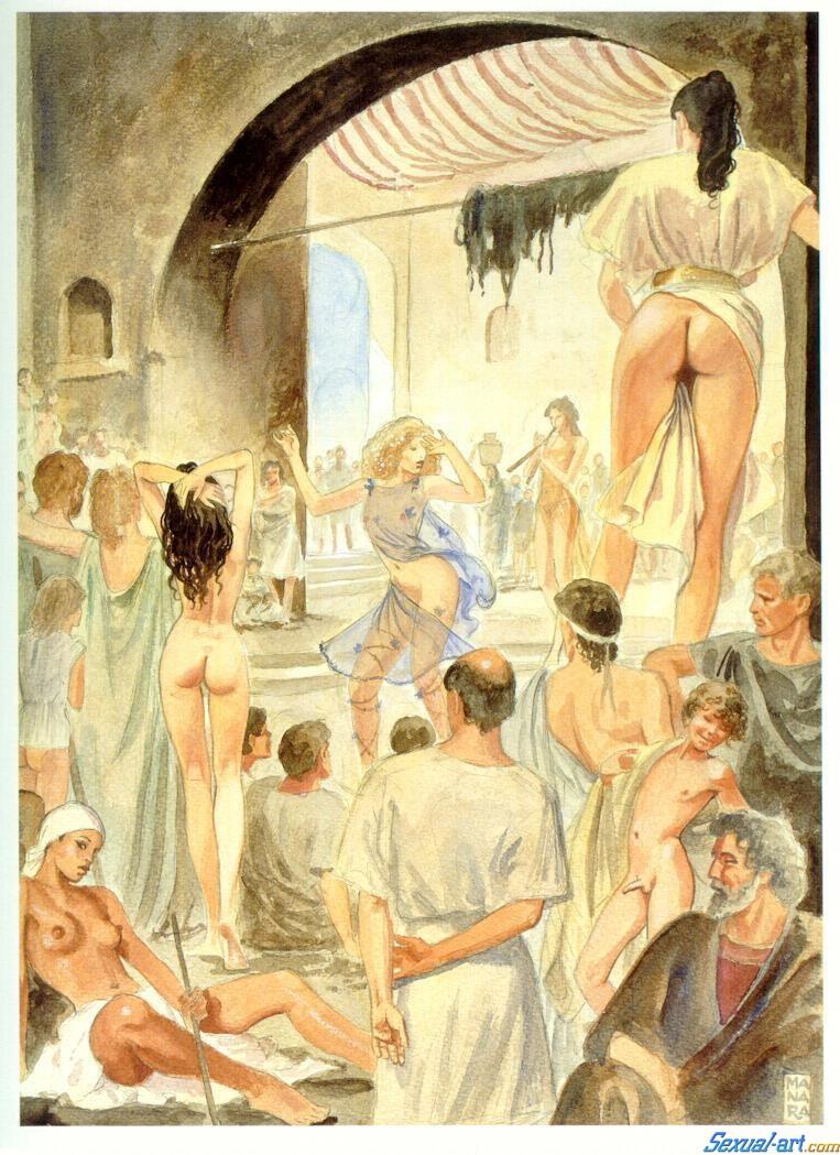 Древнего Рима, Каблуки Проститутки