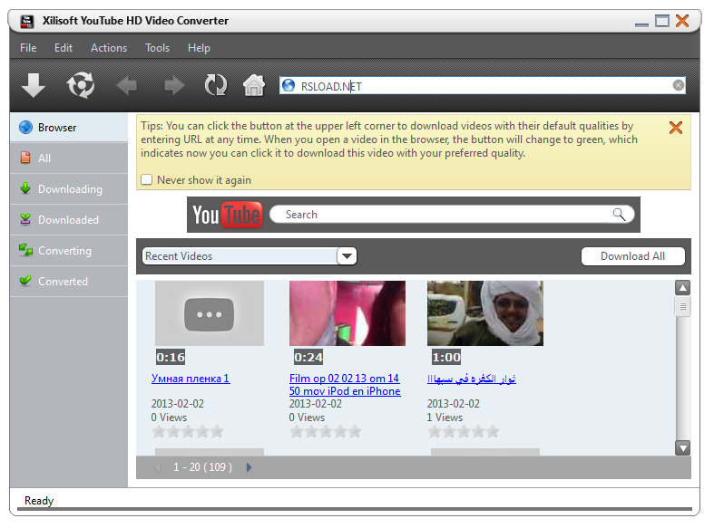 FREE YouTube Video Downloader: Download YouTube- Xilisoft