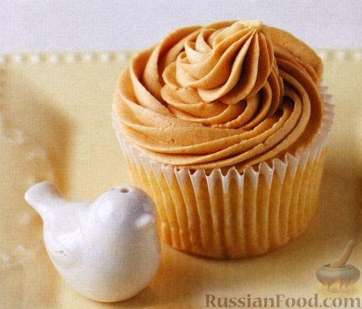 крем на кексы рецепт с фото