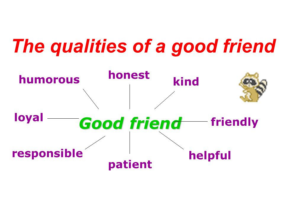 Essay on best friend qualities