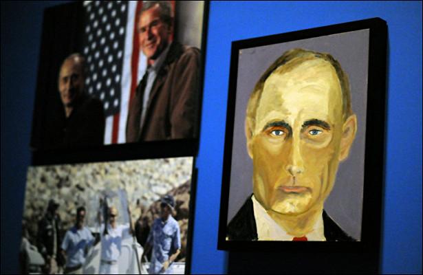 Разможно быть полным сил, можно ивзмахом кисти писать картины: Черчилль создал 500картин, апроизведение Путина было продано…