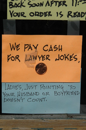 Dating lawyer jokes