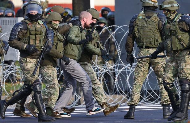 Стреляли резиновыми пулями: вМинске снова задержания