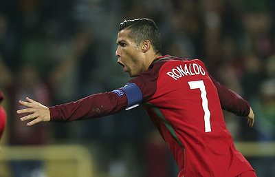 Криштиану Роналду впервые забил четыре мяча за сборную