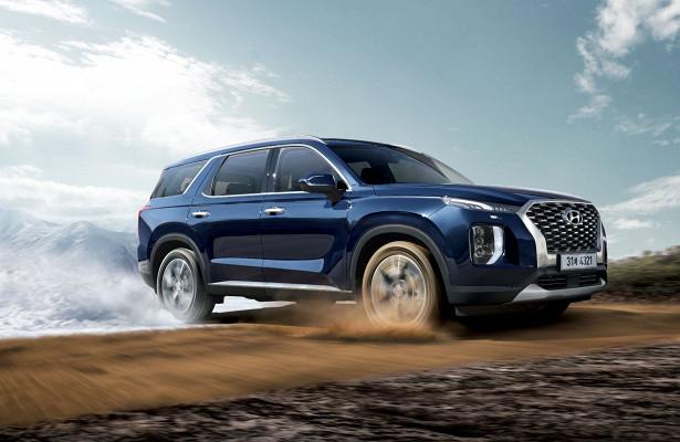 Появилась информация омоторах Hyundai Palisade вРоссии