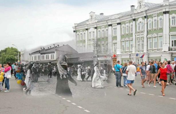 Житель Вологды объехал всюобласть, чтобы сделать «фотомашину» времени