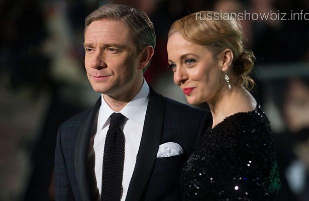 Звезда Шерлока рассказала оразводе сМартином Фрименом